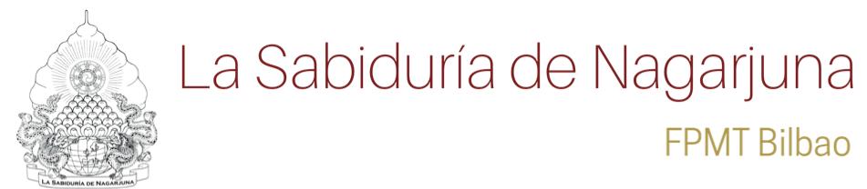 La Sabiduría de Nagarjuna Bilbao Logo